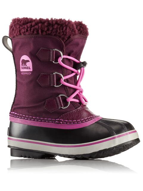 Sorel Kids Yoot Pac Nylon Boots Purple Dahlia/Foxglove